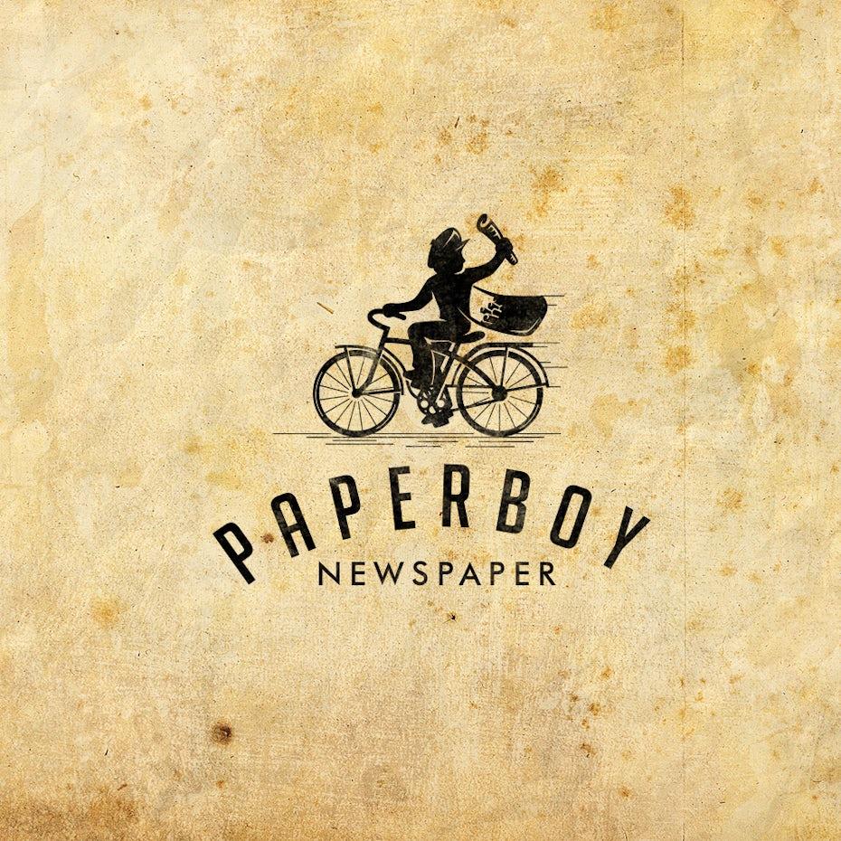 logo paperboy
