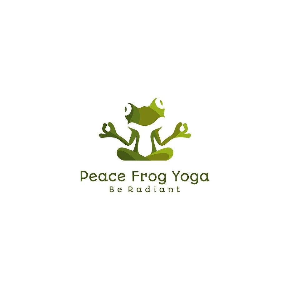 Peace Frog Yoga logo