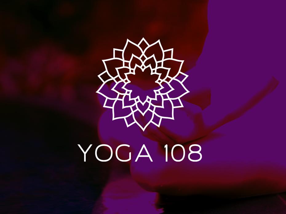 Yoga 108 logo
