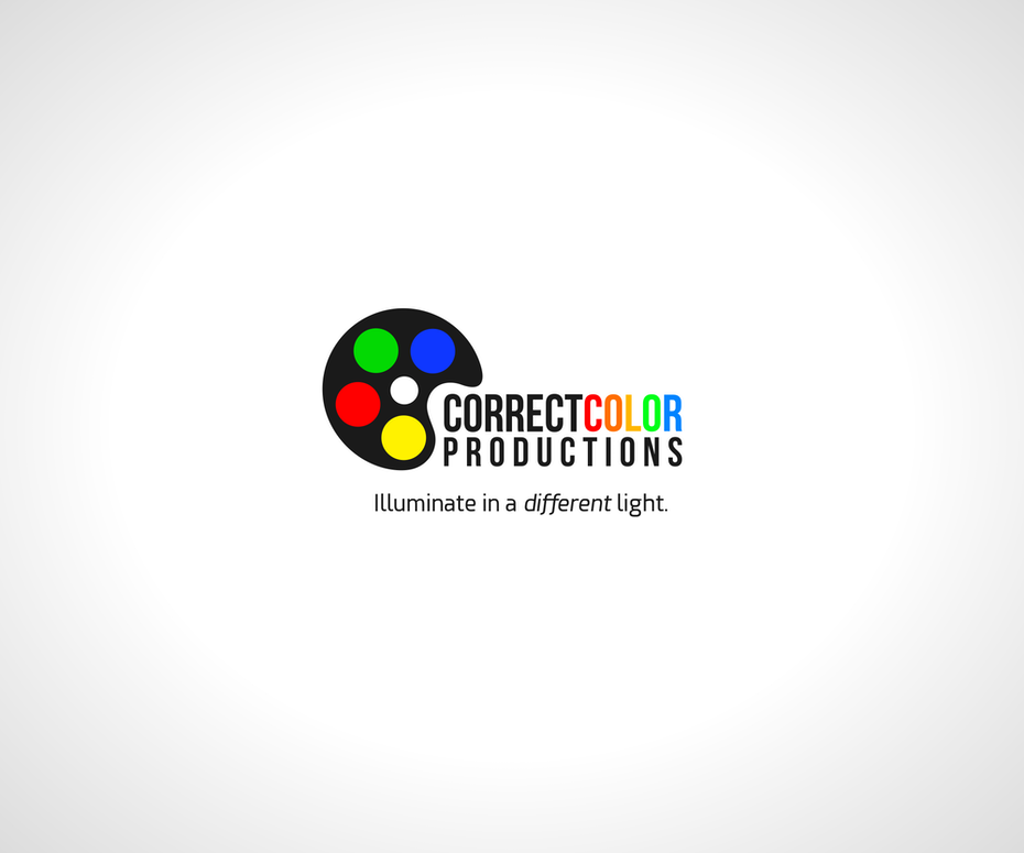 Color palette logo