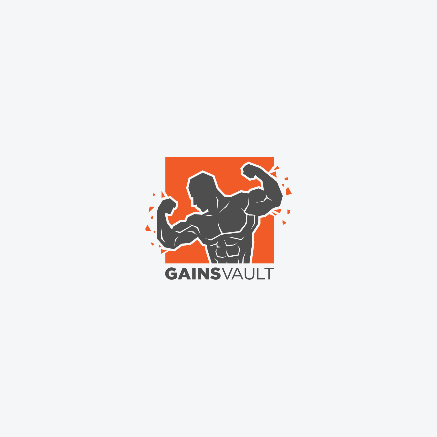 Gains Vault Logo