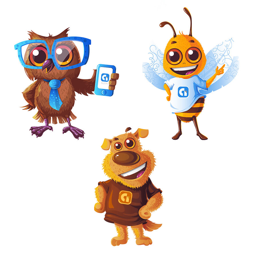 mascot illustration
