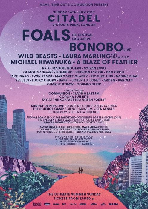 Best UK festival posters