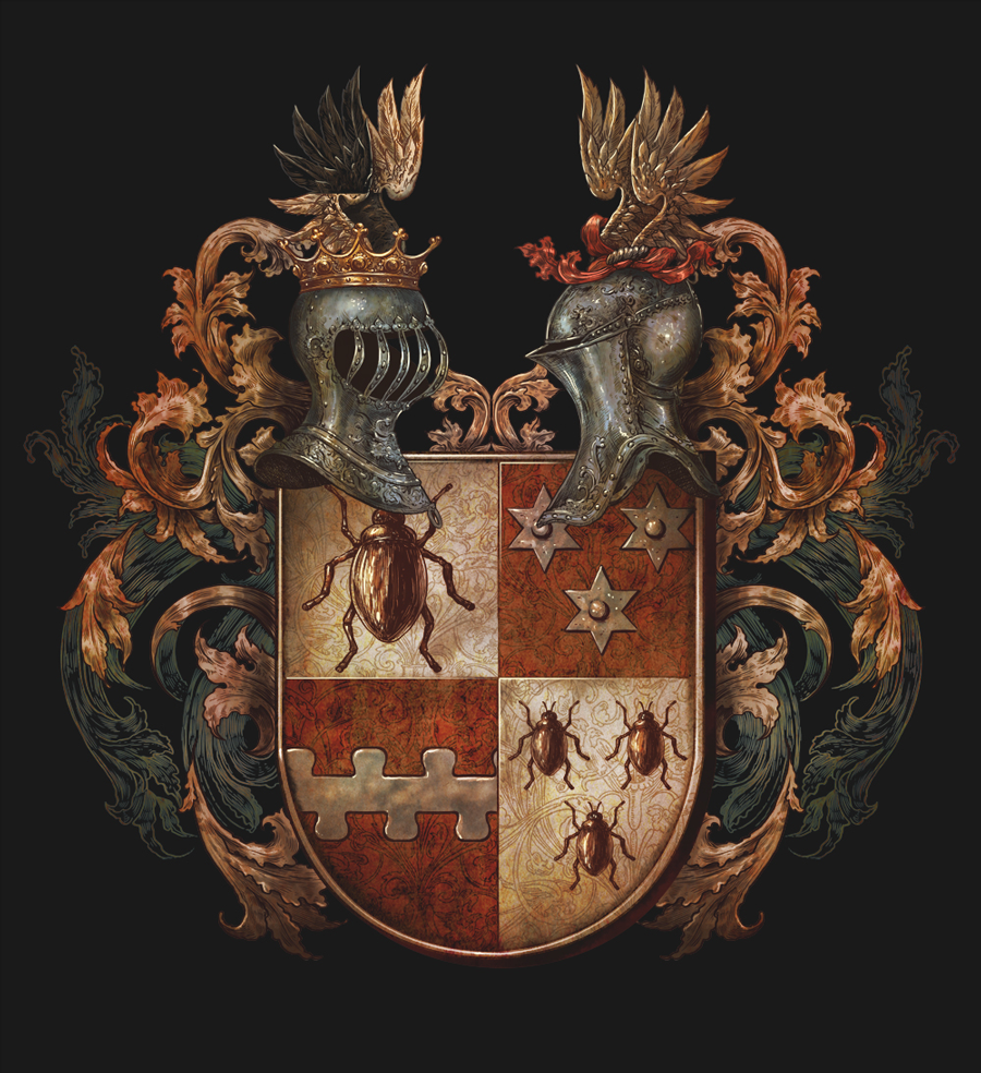 coat of arms illustration
