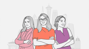 Female-led companies that have bridged the funding gap [infographic]
