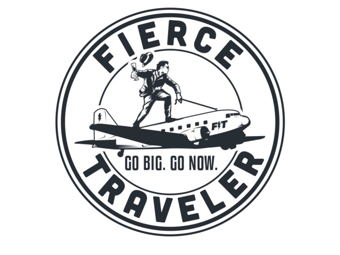 Fierce traveler logo