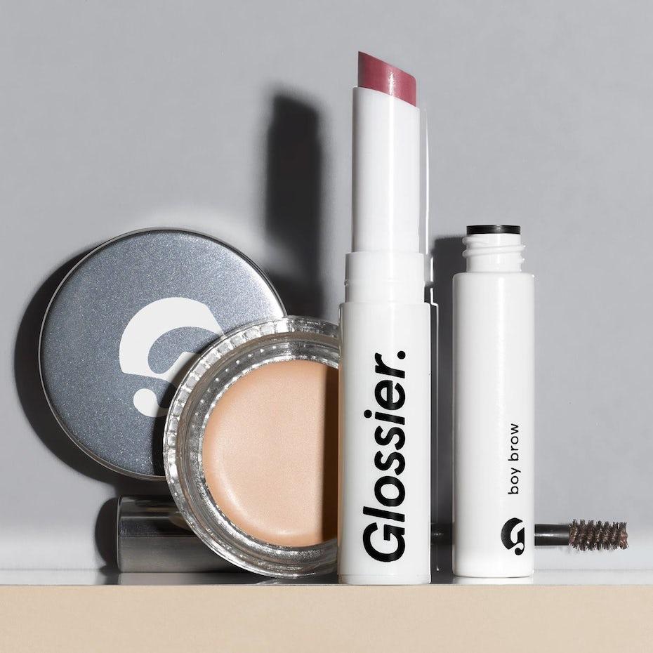 Glossier makeup photo
