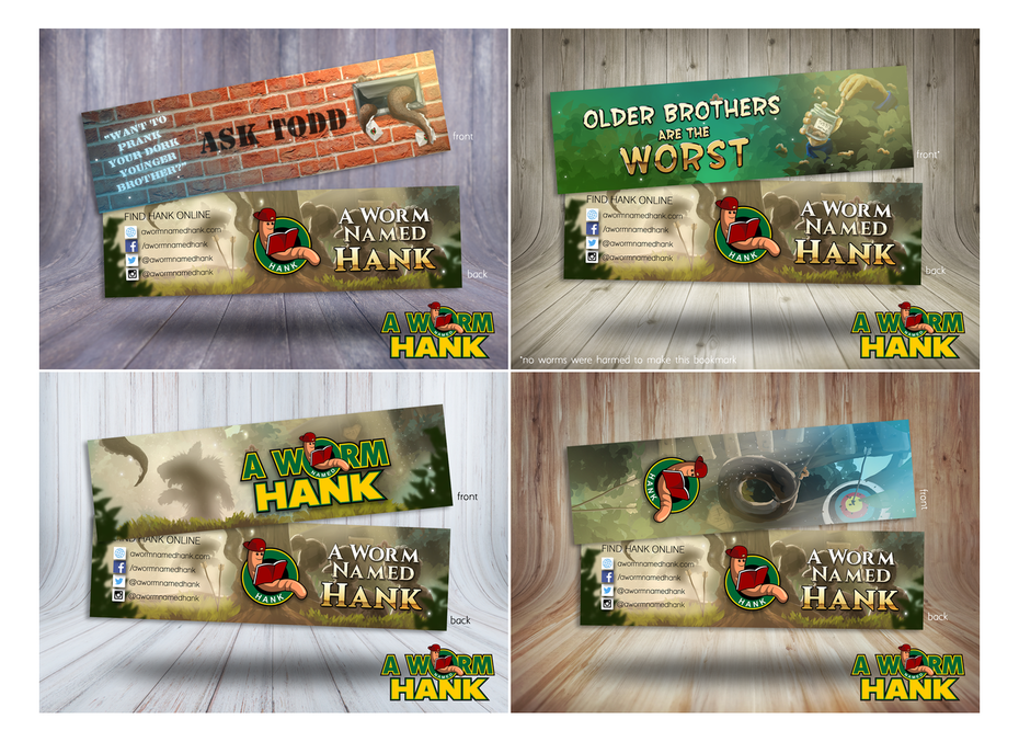 Bookmarks for Children's Book