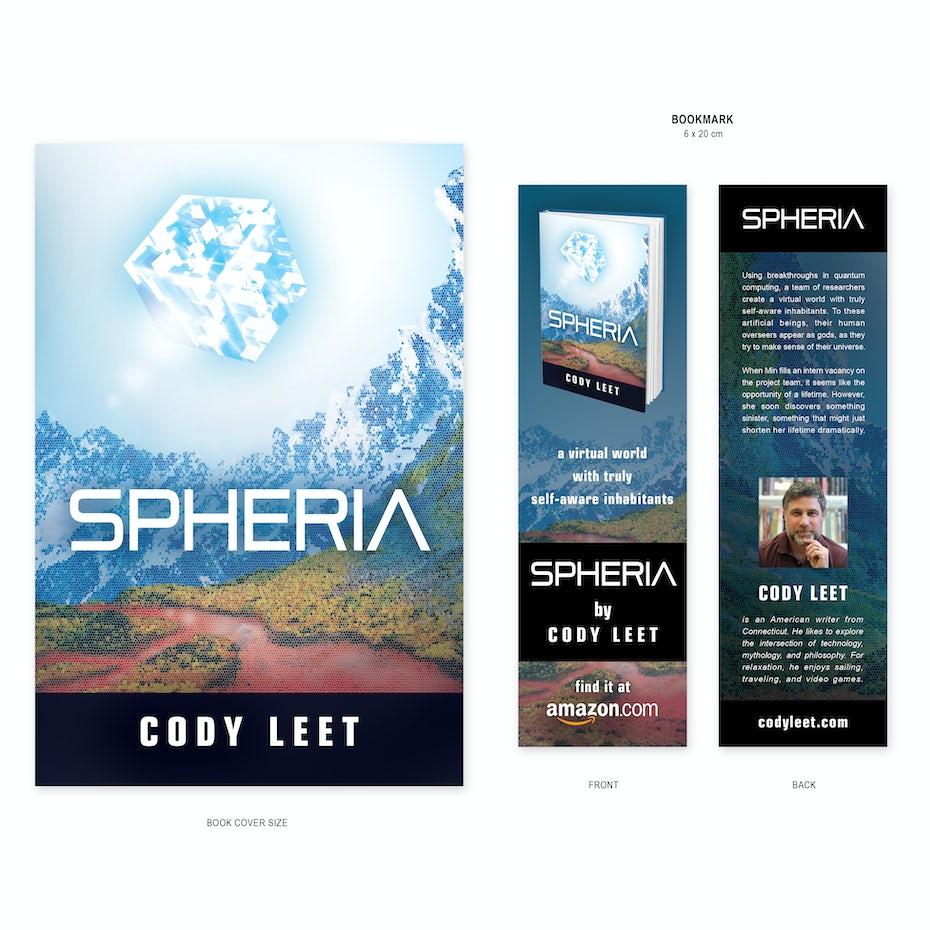 Bookmark for Spheria by Cody Leet