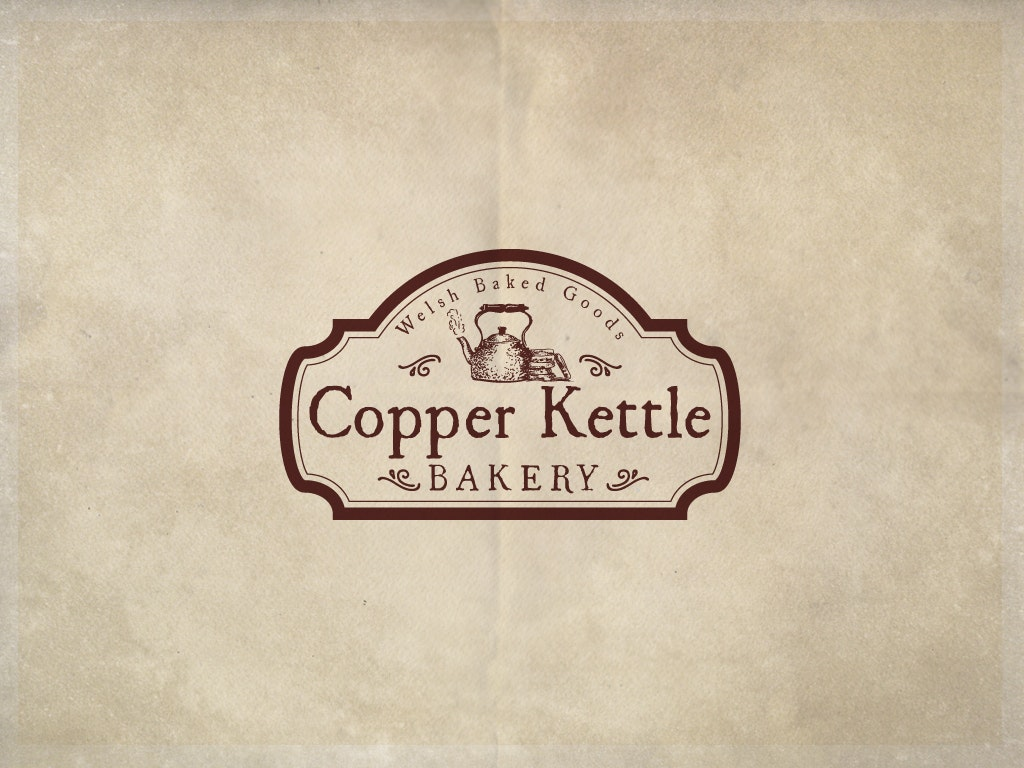 Classic Bakery Logo: Copper Kettle