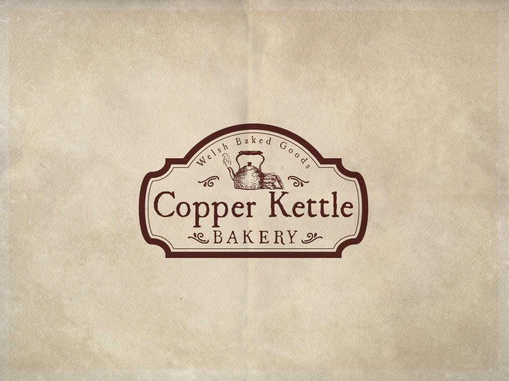 Classic Bakery Logo: Copper Kettle
