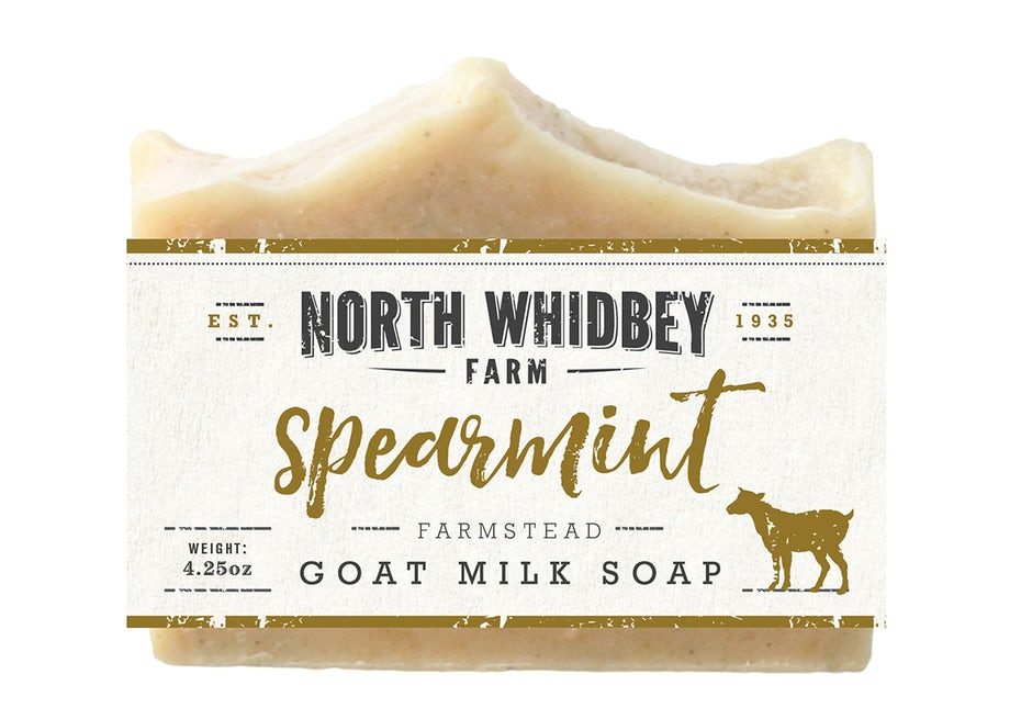 fonts for your brand - soap picture