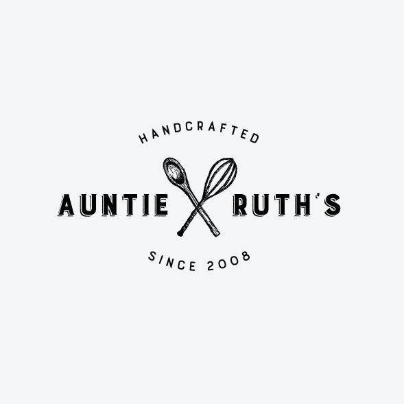 Auntie Ruth's Doughnuts Logo