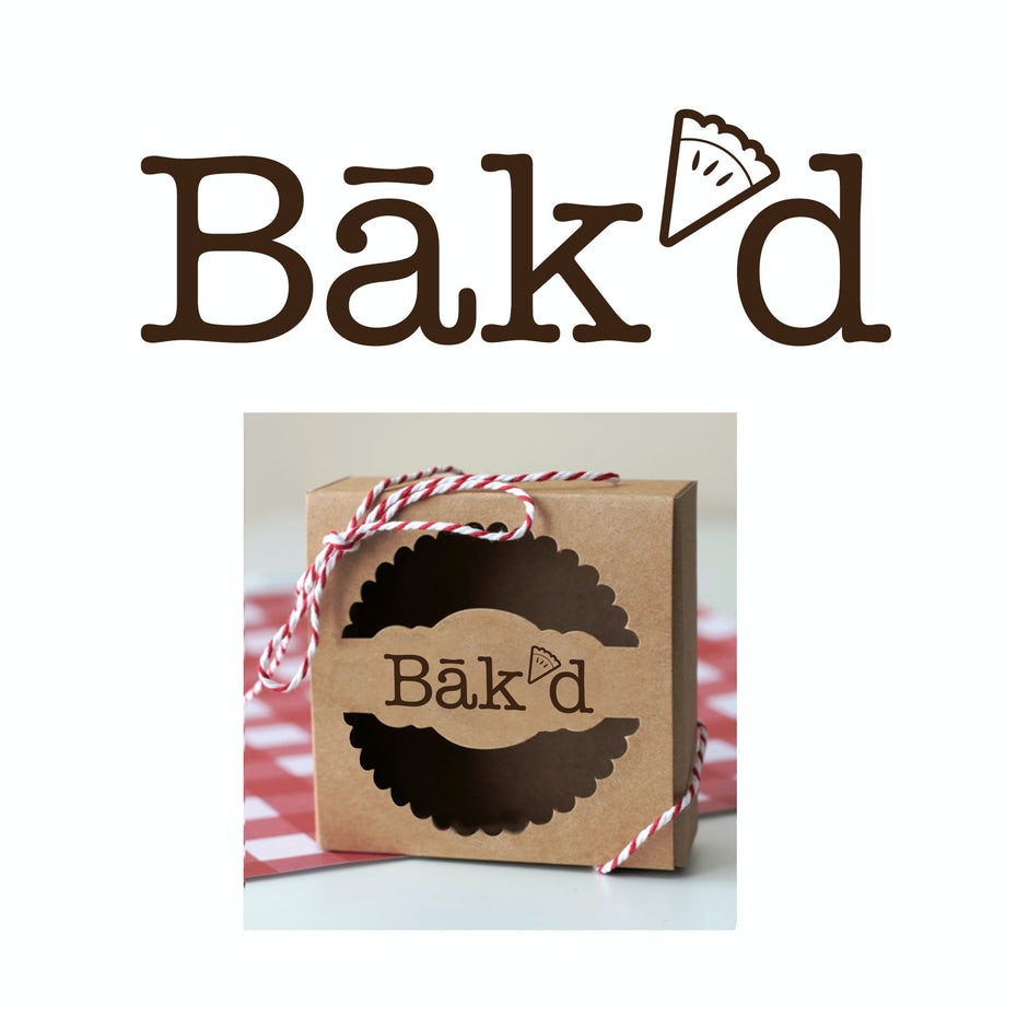 Clearly This Bakery Is All About Bakn Pies Bakd Logo Design By OftheFOREST