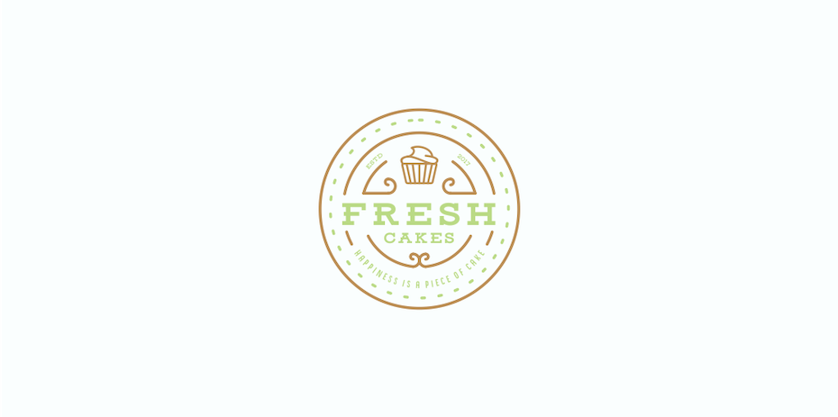 Sweetooth Logo: Fresh Cakes