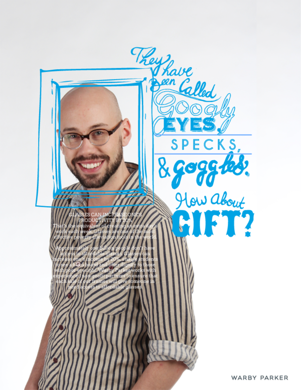 warby parker photograph and illustration