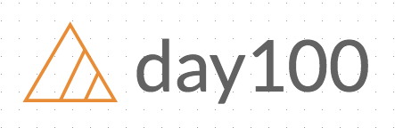 day100 SquareSpace logo