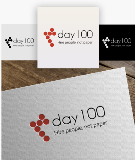 day100 Logoshi logo