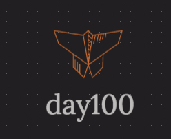 day100 logo von logo maker Ucraft