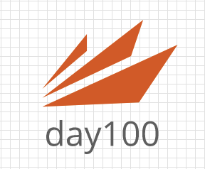 day100 Logo Garden logo
