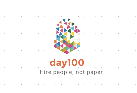day100 logo von logo maker GraphicSprings
