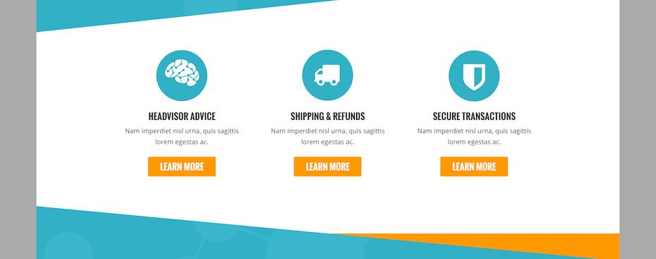 So können Informationen transparent auf der Website dargestellt werden.