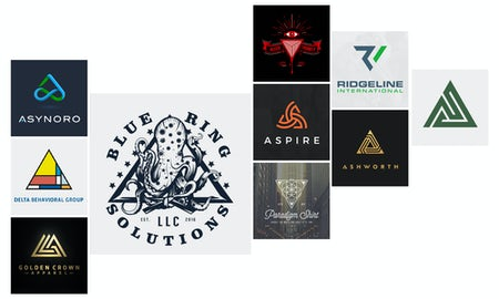 18 triangle logos that get to the point