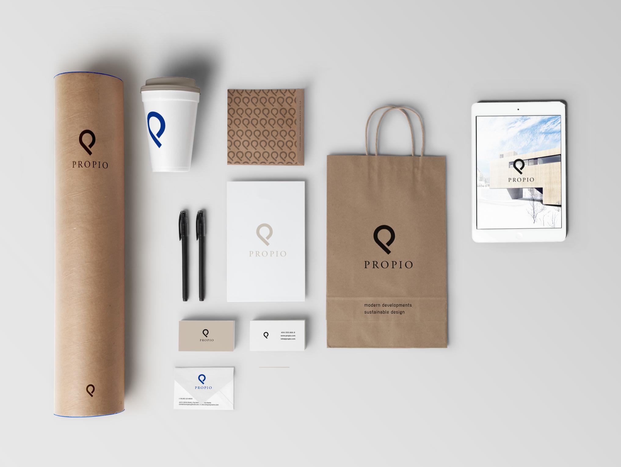 Brand Identity for PROPIO