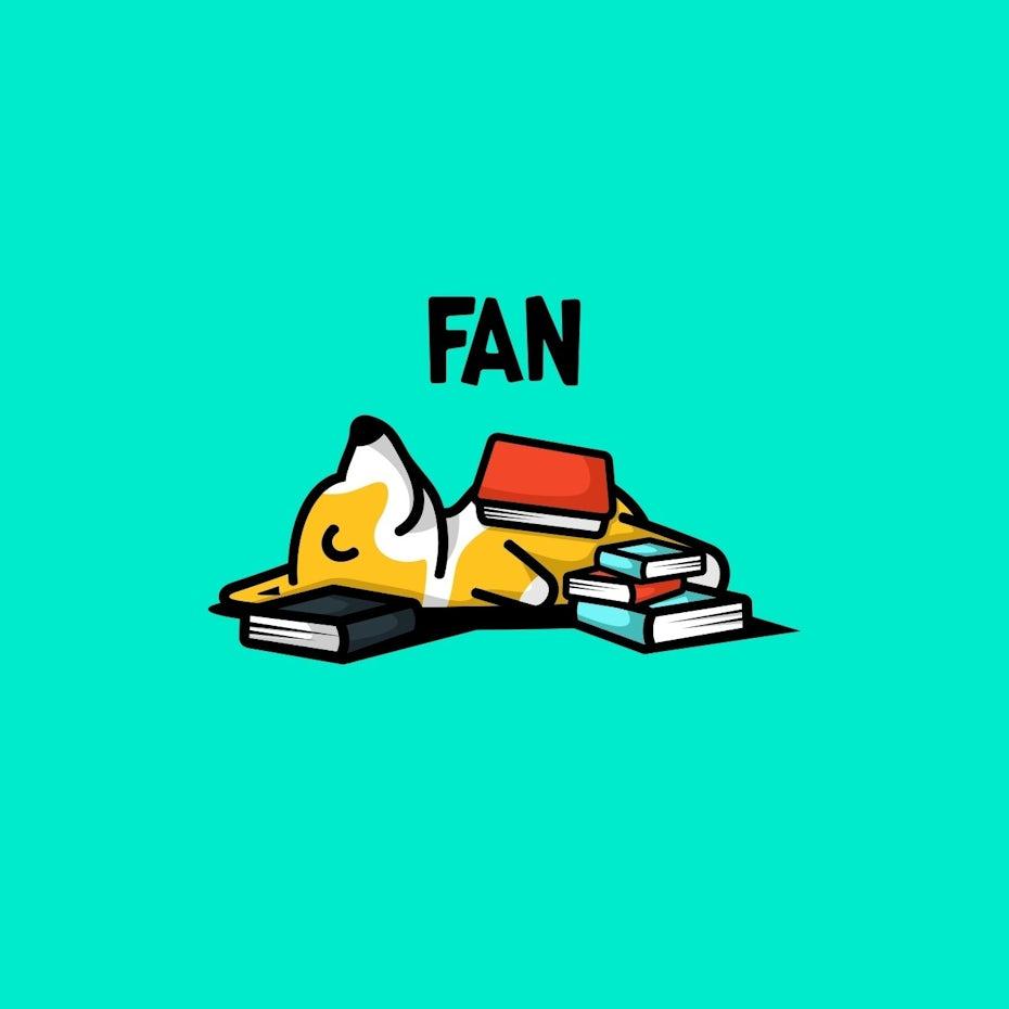 Fan logo