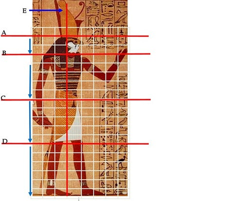 egyptian grid design