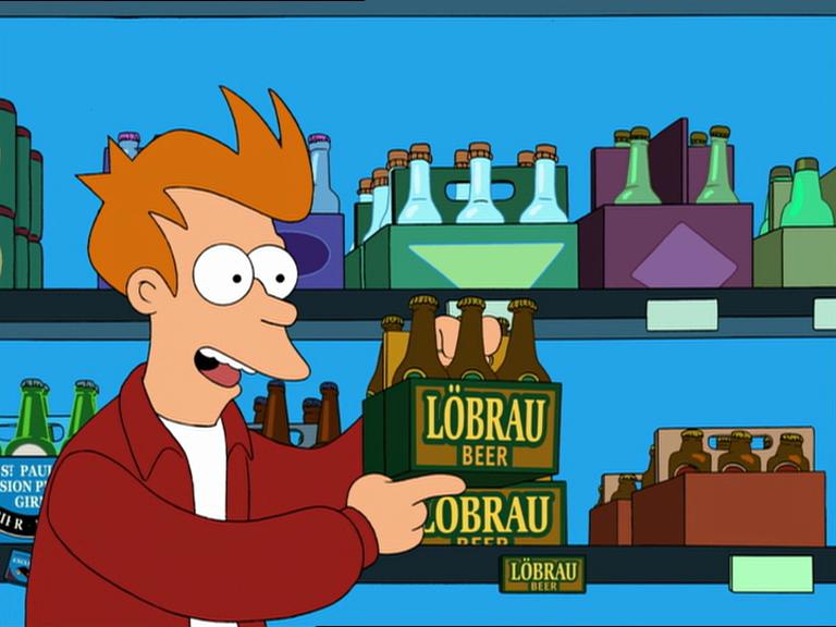 LÖBRAU beer