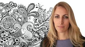 Inside Marrieta's imaginative book illustrations