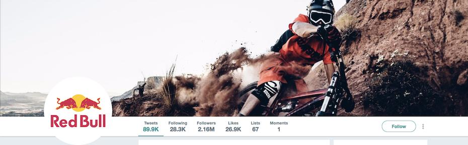 Red Bull Twitter image