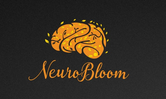 Logo depicting brain as tree