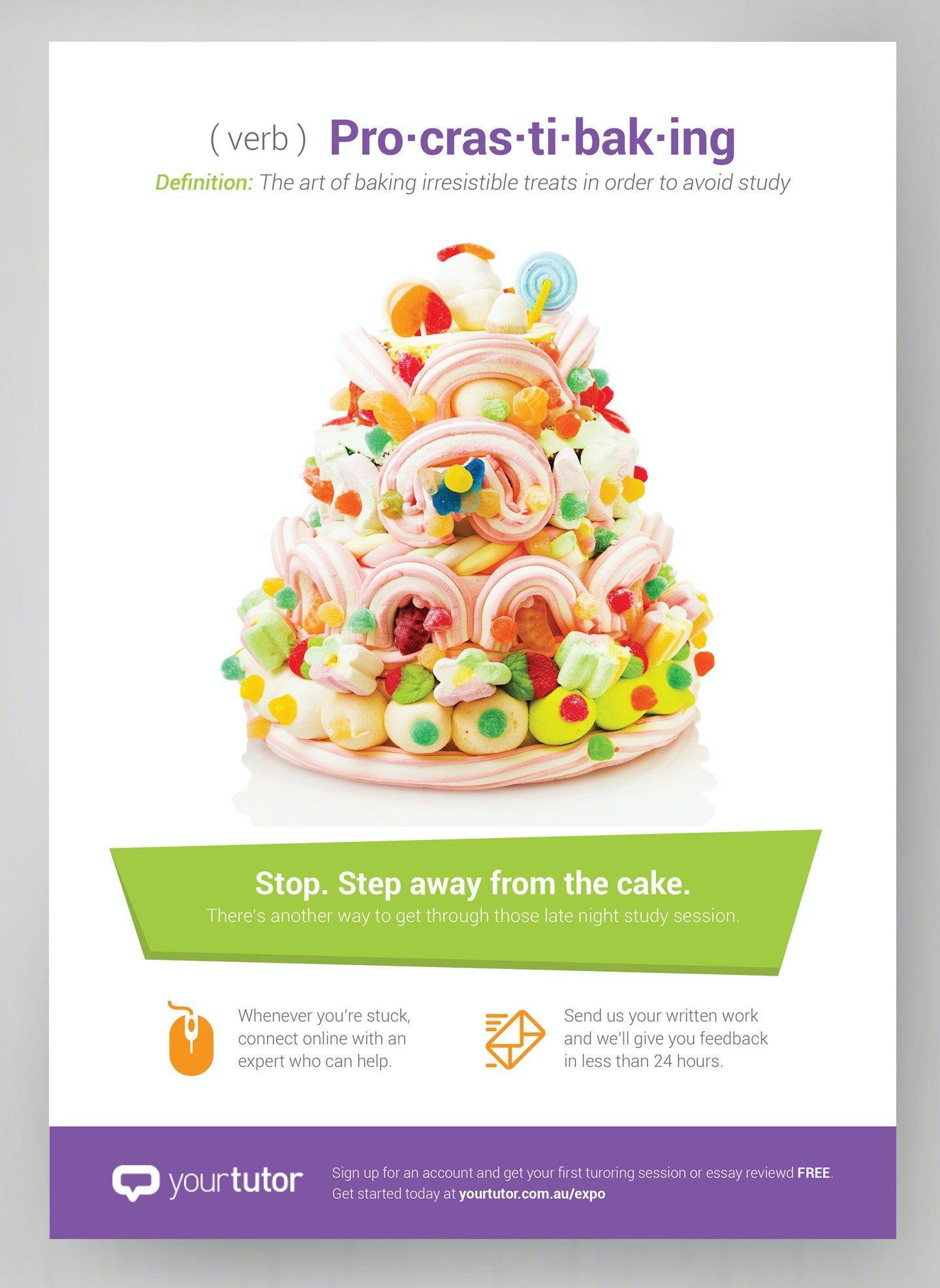 cake ad