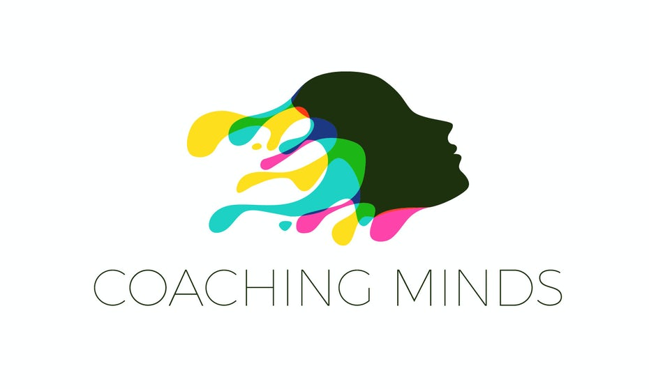 Colorful head logo