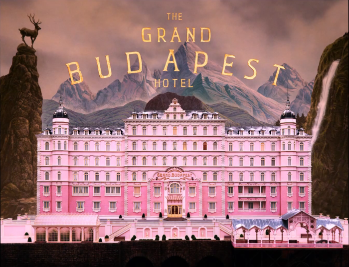 Pink hotel from The Grand Budapest Hotel