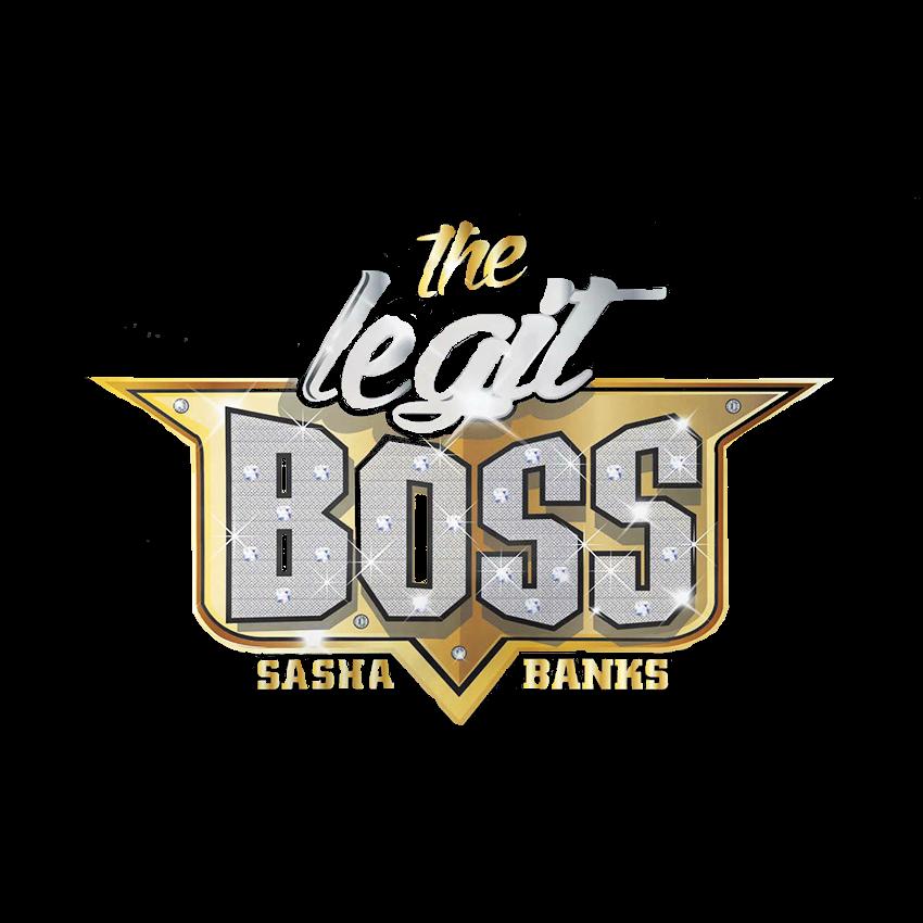 Sasha Banks Legit Boss logo
