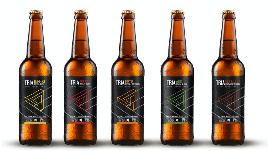 modern beer labels