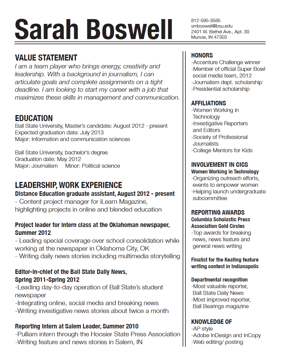 7 Resume Design Principles That Will Get You Hired 99designs Blog