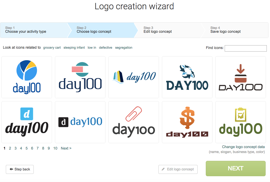 logo maker logaster logo creation wizard