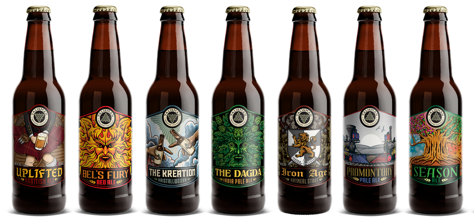 Talisman beer labels