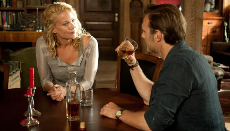 Laurie Holden and David Morrissey