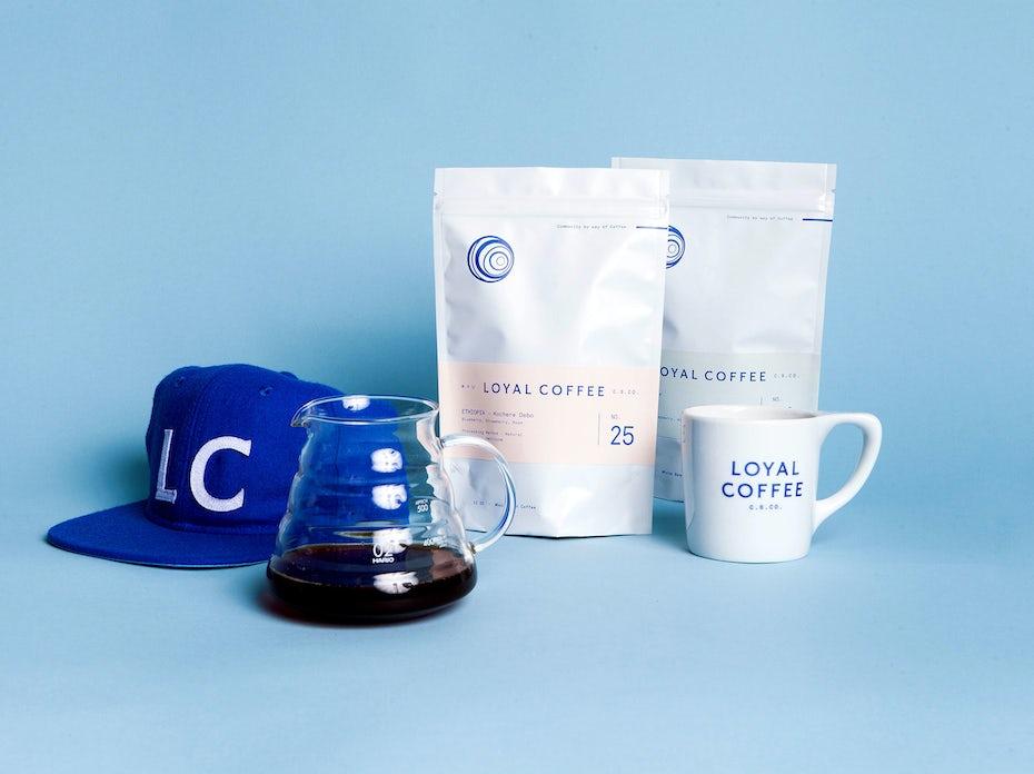 loyal coffee logos