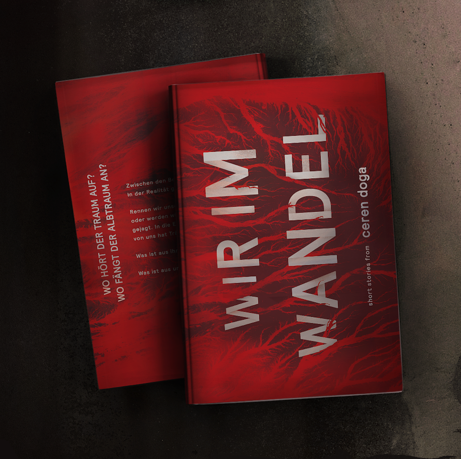 book cover design for Wir Im Wandel