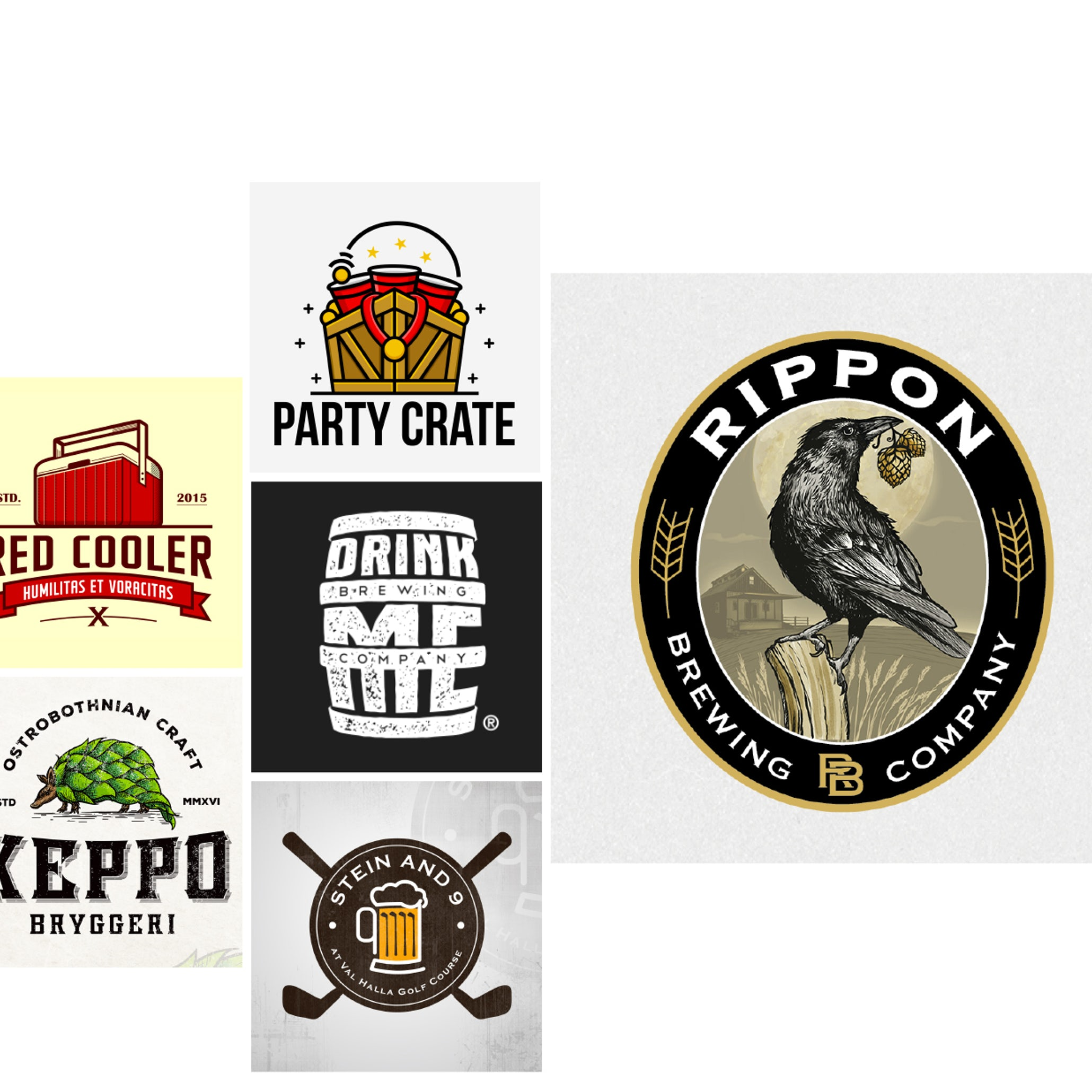 Cool Craft Beer Logos