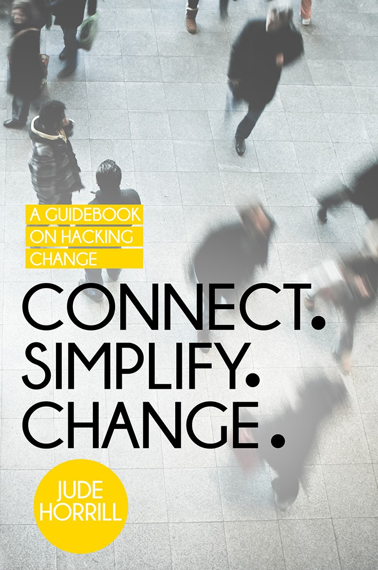 connect simplify change book cover