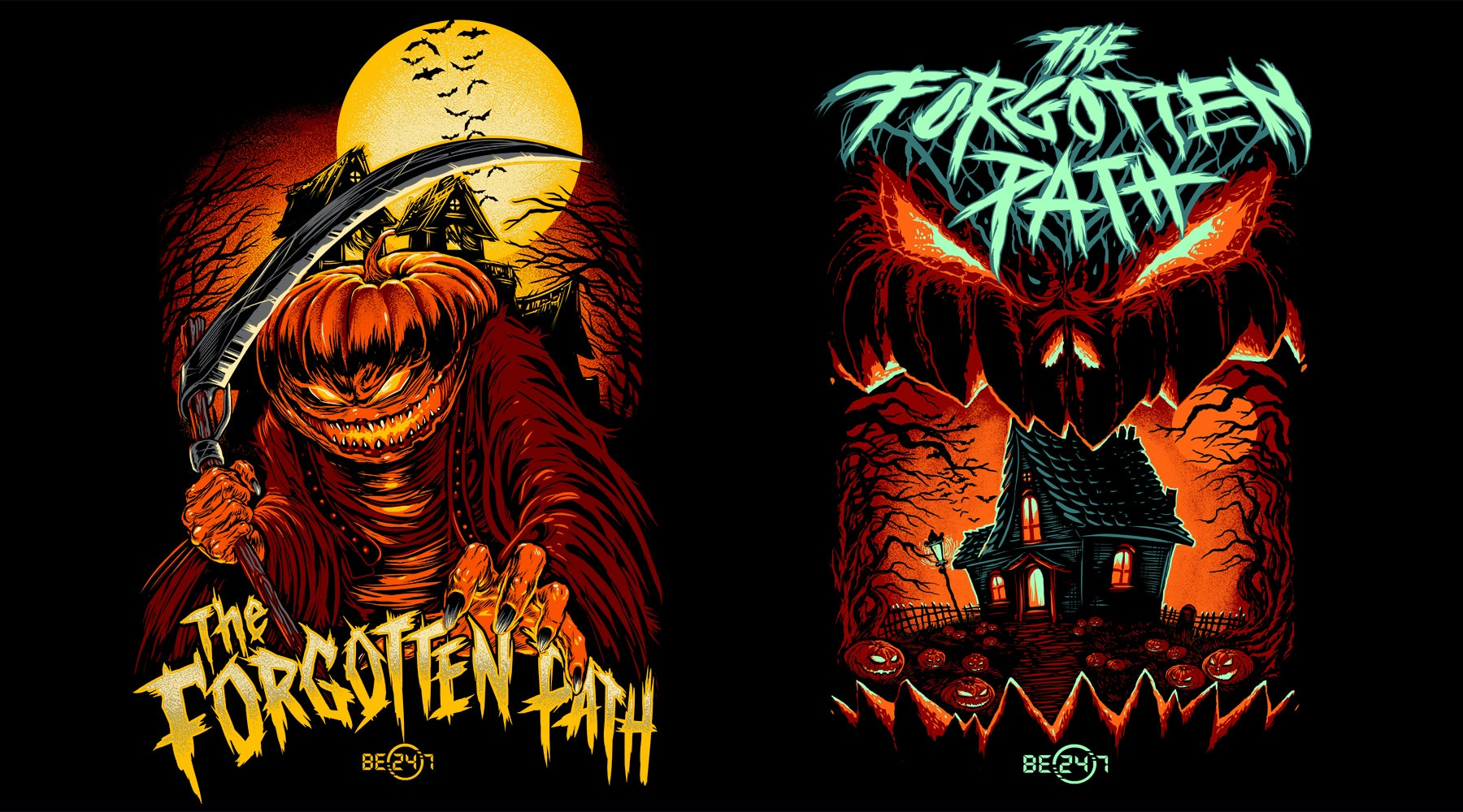 The Forgotten Path t shirt