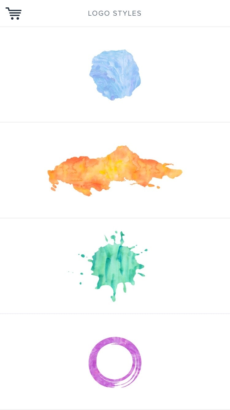 Watercolor Logo Maker logo design app