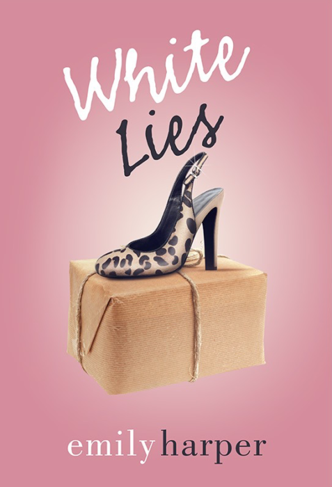 White Lies book cover design by subsiststudios